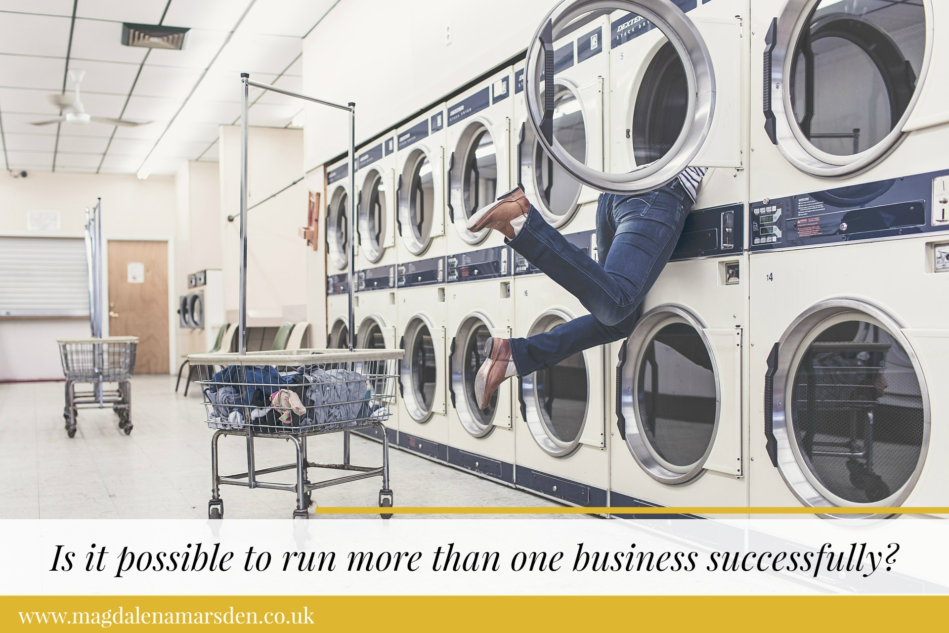 How tIs it possible to run more than one businesses successfully