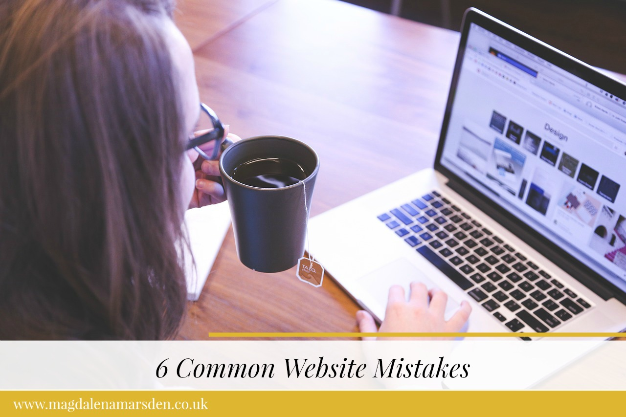 6 Common Website Mistakes
